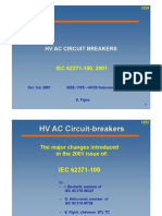 39 HV AC Circuit Breakers - IEC 62271-100
