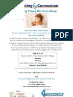 Sleep Seminar 30 May 2013