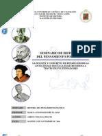 Marco Antonio Huesbe Llanos-La Noción y Concepto de Estado Desde la Antigüedad Hasta la Edad Moderna