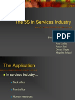 5S in Service Industries