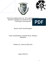 Fundamentos de Los Sistemas Operativos Javier Tena Dominguez g3