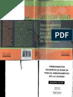 63646151 Herramientas Estadisticas Basicas Para El Mejoramiento de La Calidad HITOSHI KUME
