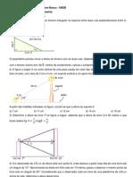 Lista de exercícios de trigonometria