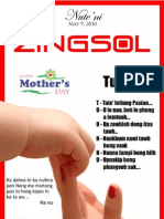 Zingsol Mother Day Issue L12H2 1,2013.
