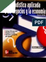 8393935 Estadistica Aplicada a Los Negocios y La Economia Allen L Webster