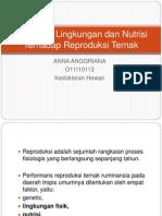 Tgs-Pengaruh Lingkungan Dan Nutrisi Terhadap Reproduksi