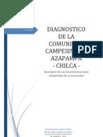 Diagnostico de La Comunidad de Azapampa