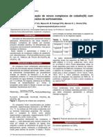 Síntese e caracterização de novos complexos de cobalto(III) com