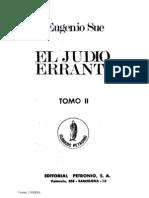 Sue, Eugenio - El Judio Errante Tomo 1