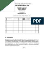 PLAN OPERATIVO ANUAL DEL ÁREA  (POA)