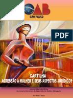 Cartilha Agressao Mulheres