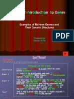 type of text presentation