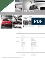 Audi TT & TTS Catalogue (Germany, 2013)