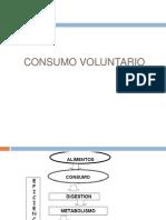 consumo voluntario 2009
