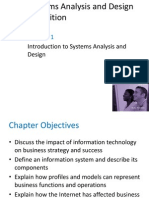 Chapter 1 - Introduction to Systems Analysis and Design
