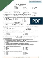 1listadeexerccios9anopotnciasiltonbruno-120304113907-phpapp02