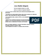 Biografía de José Emilio Salgado privado