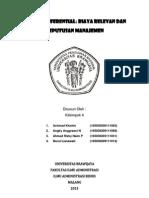 Analisis Diferensial - Akuntansi Manajemen