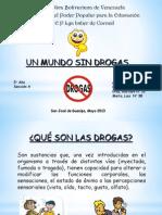 UNA VENEZUELA SIN DROGAS - copia.ppt