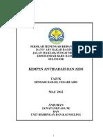 Kempen Antidadah & Aids (peringkat sekolah menengah)