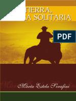 Tierra, figura solitaria - novela de María Estela Serafini