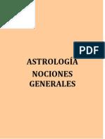 Anónimo - Astrologia Nociones Generales