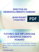 Slide Aula Piaget e Vygotsky