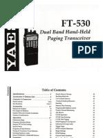 FT-530 Manual
