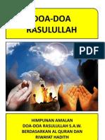 Doa Doa Rasulullah