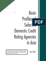 Abmi Credit Rating Agencies Profiles Asean3 May2005