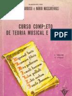 Curso Completo Teoria e Solfejo - Belmira Cardoso e Mario Mascarenhas Vol. 1