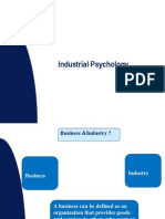 Industrial & Business Psychology