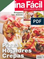 Cocina Facil Pizzas,Hojaldres y Crepas