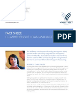 Wallstreet Suite Comprehensive Loan Management Fact Sheet
