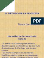 El Método de la Filosofía, García Morente