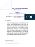 The Intelligent Enterprise and Knowledge