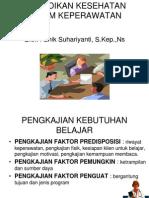 Pendidikan Kesehatan Dalam Keperawatan