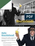 Goal Setting for Knuckleheads