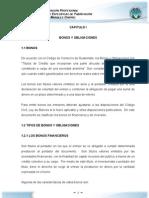 5. Marco Teorico - Auditoria de Bonos y Obligaciones