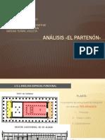ANÁLISIS «EL PARTENÓN»