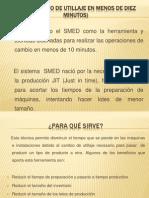 SMED (Cambio de Utillaje en Menos De