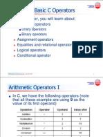 Chapter4 Basic C Operators