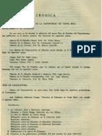 Cronica Vida Filosofica en La Universidad de Costa Rica Departamento de Filosofia Revista de Filosofia UCR Vol.2 No.5