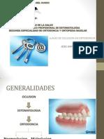 Llaves de Oclusion en Ortodoncia