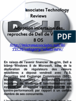 Micron Associates Technology Reviews - Adoption Incertaine Des Reproches de Dell de Windows 8 OS