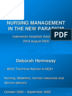 WHO Consulting - Nursing Management in The New Paradigm.ppt