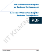 M2L10 Business Environment