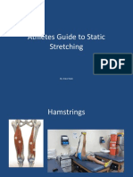 Athletes Guide to Static Stretching