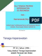 Rasmanawati, SKp - Pola Tenaga Profesi Keperawatan di Indone.ppt