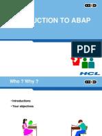 ABAP Workbench - Mod